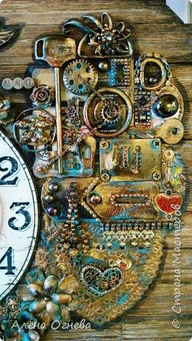 Часы в Автомастерскую . Стимпанк . фото 11