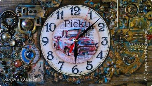 Часы в Автомастерскую . Стимпанк . фото 5