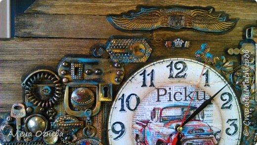 Часы в Автомастерскую . Стимпанк . фото 6