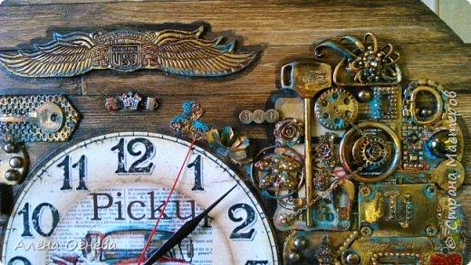Часы в Автомастерскую . Стимпанк . фото 7