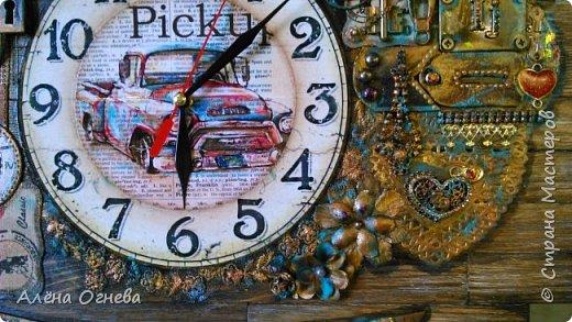 Часы в Автомастерскую . Стимпанк . фото 8