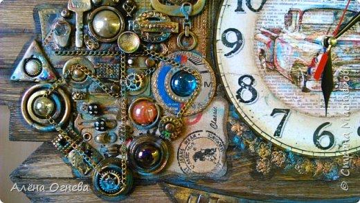 Часы в Автомастерскую . Стимпанк . фото 9