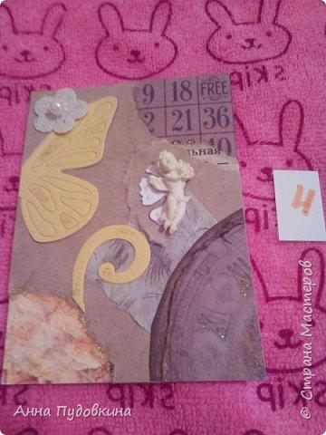 Ну а начнем мы с новых серий)) ЗАКРЫТА Итак, Тильдочки Серия состоит из 6 карточек) Первая выбирает Маша Соколовская) На самом деле все карточки ровные, просто сфотаны под наклоном фото 25