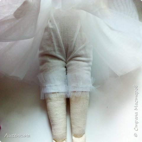Добрый день. Сегодня я хочу показать вам свою новую Тильду балерину. фото 7