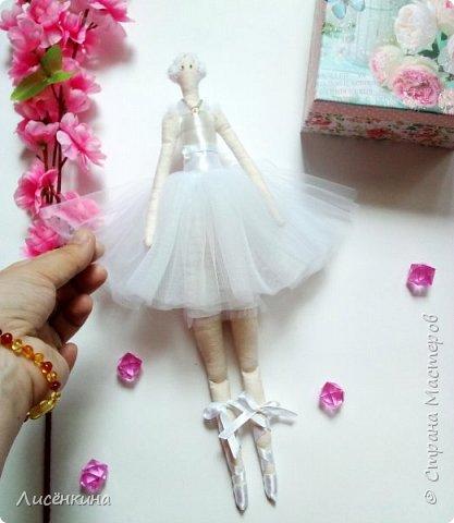 Добрый день. Сегодня я хочу показать вам свою новую Тильду балерину. фото 5