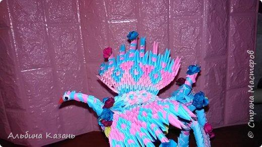 Органайзер для канцтоваров,украшенный павлином и розочками.Элизе 8лет фото 11