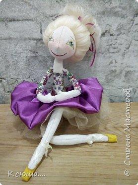 Проба текстильной куклы фото 2