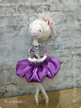 Проба текстильной куклы фото 4
