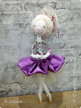 Проба текстильной куклы фото 6