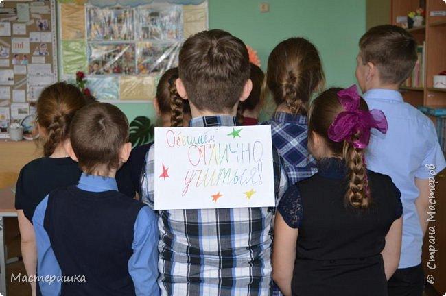 Доброе утро, всем, всем, всем!!! Сегодня покажу фотоколлаж, который смастерили 3 кл. на День рождения своей учительницы. Подобный фотоколлаж делали 11 кл. для своей учительницы. https://stranamasterov.ru/node/1114396#photo9  фото 9