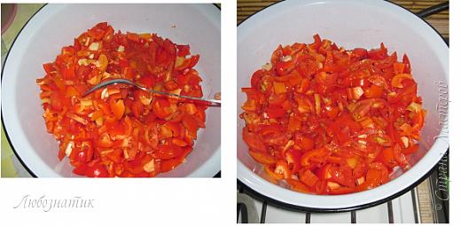 Здравствуйте дорогие друзья и соседи! Сегодня хочу поделиться рецептом Лечо из красных помидоров. Рецепт проверен многократно, ВКУСНО! Мои дети с удовольствием едят, не говоря о взрослых :-)  Данный пост готовила ещё в прошлом году, но времени не хватило (своевременно выложить), а в СМ все уже готовились к новому году.  В связи не актуальностью данной информации, решила отложить до мая.    фото 6