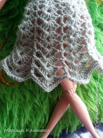 И снова всем приветик! А вот и новый наряд для нашей новенькой. Назвала ее Шарлотта. Изначально планировалась ночная рубашечка, но процесс работы показал совсем другой результат))) И получилось маленькое платице для вечеринки)) фото 8