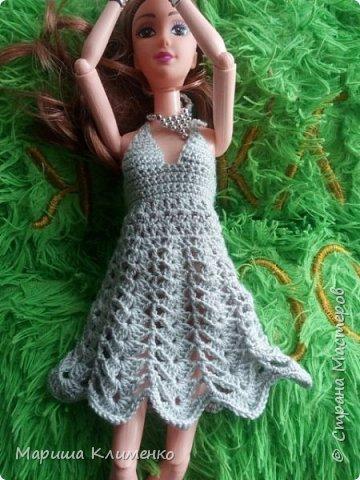 И снова всем приветик! А вот и новый наряд для нашей новенькой. Назвала ее Шарлотта. Изначально планировалась ночная рубашечка, но процесс работы показал совсем другой результат))) И получилось маленькое платице для вечеринки)) фото 9