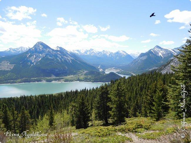 Первый выход в горы после долгой зимы, благо до них езды около часа... Пеший маршрут 15 км с подъемом на 300 метров. Озеро Барьер .  Хорошая солнечная погода, синее небо, свежий воздух и запахи весны! фото 10