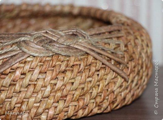 Хочу поделиться своими первыми работами в этой удивительной техники плетения. Удовольствие получила огромное.  Трубочки были немного суховаты-так как плетение не быстрое и опыта нет!  фото 2