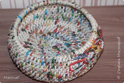 Хочу поделиться своими первыми работами в этой удивительной техники плетения. Удовольствие получила огромное.  Трубочки были немного суховаты-так как плетение не быстрое и опыта нет!  фото 6