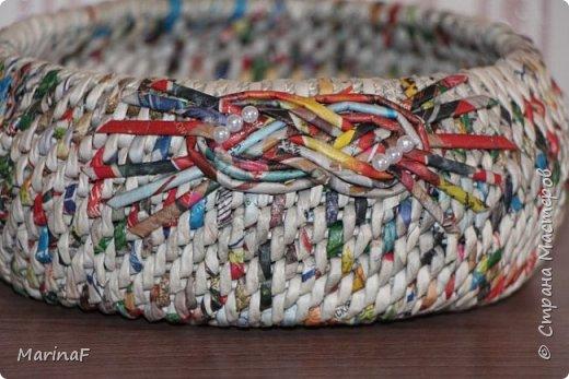 Хочу поделиться своими первыми работами в этой удивительной техники плетения. Удовольствие получила огромное.  Трубочки были немного суховаты-так как плетение не быстрое и опыта нет!  фото 7