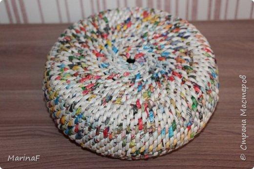 Хочу поделиться своими первыми работами в этой удивительной техники плетения. Удовольствие получила огромное.  Трубочки были немного суховаты-так как плетение не быстрое и опыта нет!  фото 8