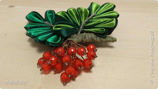 Доброго всем дня!!  Хочется ещё показать мои топиарии и первую пробу в технике  канзаши.. Настроение уже почти летнее.. цветочки, ягодки, фрукты..  фото 5