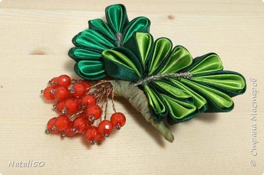 Доброго всем дня!!  Хочется ещё показать мои топиарии и первую пробу в технике  канзаши.. Настроение уже почти летнее.. цветочки, ягодки, фрукты..  фото 4