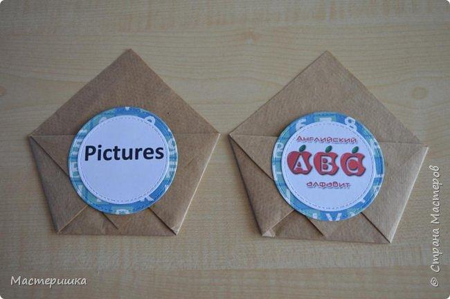 Добрый день, друзья! Получила я очередное задание от сына: изготовить кармашки для карточек по английскому) Сделала!   фото 5