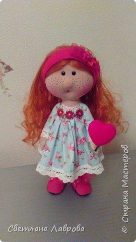Здравствуйте жители Страны мастеров!!! У меня новая куколка - Милания....