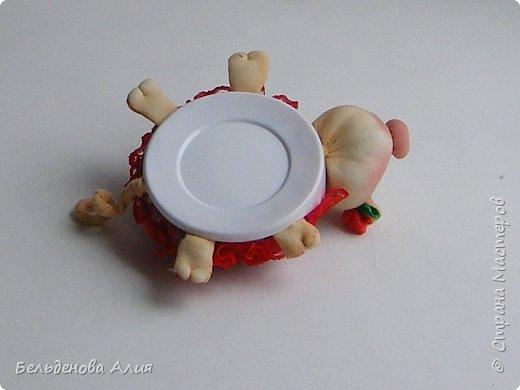 Игольница Хрю сделана по тому же принципу, что и черепашки. фото 18
