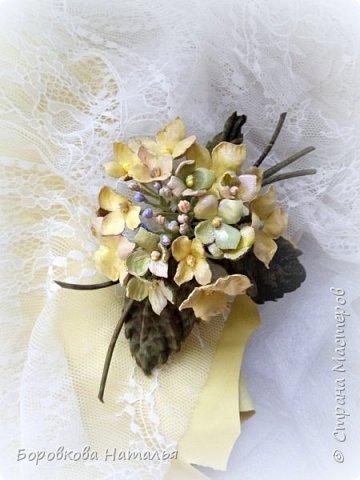 Цветы из кожи фото 12