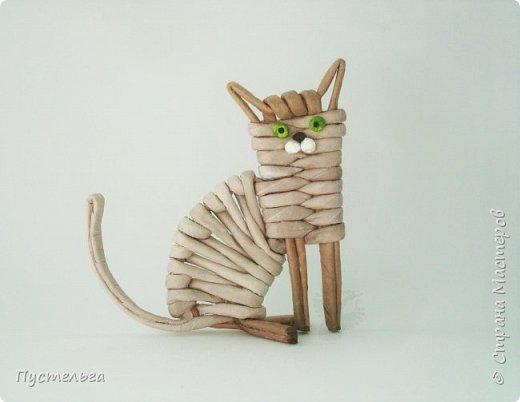 Знакомьтесь - это котёнок Ксю.  Я сделала его для очень хорошего, доброго и талантливого человека.  фото 20