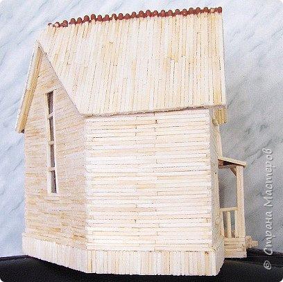 """Магазин """"Авоська"""". Размер макета 20х26х14 см. 101 коробок спичек. фото 61"""