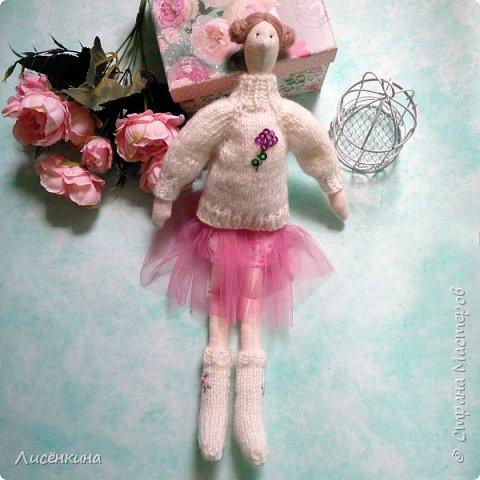 Добрый день мастера и мастерицы. Хочу показать вам мою новую куклу.