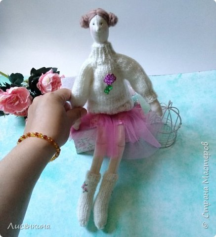 Добрый день мастера и мастерицы. Хочу показать вам мою новую куклу.  фото 6