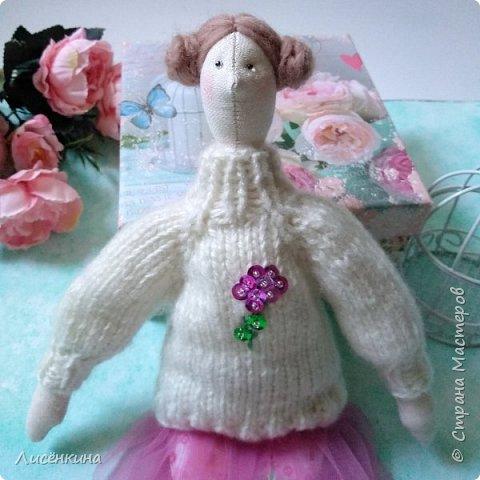 Добрый день мастера и мастерицы. Хочу показать вам мою новую куклу.  фото 2