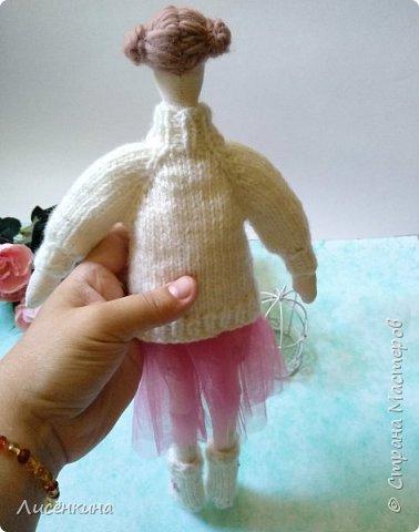 Добрый день мастера и мастерицы. Хочу показать вам мою новую куклу.  фото 8