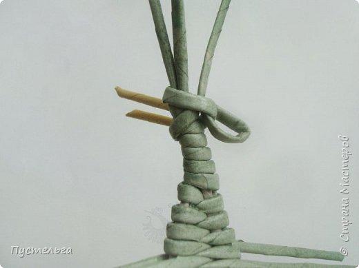 """Трубочки из из потребительской бумаги """"Кондопога"""", полоса 7 см, спица 1,2 мм. Зелёные - 16 шт. Серые - 8 шт. Жёлтые 9 шт. фото 14"""
