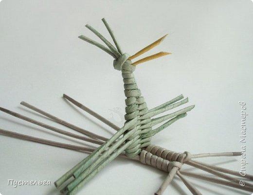 """Трубочки из из потребительской бумаги """"Кондопога"""", полоса 7 см, спица 1,2 мм. Зелёные - 16 шт. Серые - 8 шт. Жёлтые 9 шт. фото 16"""