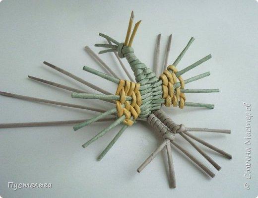 """Трубочки из из потребительской бумаги """"Кондопога"""", полоса 7 см, спица 1,2 мм. Зелёные - 16 шт. Серые - 8 шт. Жёлтые 9 шт. фото 20"""
