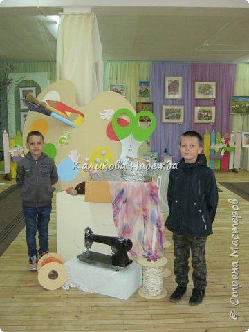 """Как всегда, в конце учебного года отдел художественно-прикладного творчества организовывает отчетную выставку. В этом году она проходила под названием """"Творчество в ладошках"""" Представлены работы детей в возрасте от 7 до 16 лет. фото 48"""