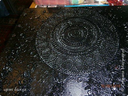 Это панно сделано в подарок женщине с армянскими корнями. Работа выполнена по мотивам работ Ольги  Кравец. В окончательном варианте фото оформила в красную рамочку. Фото добавлю потом. фото 12