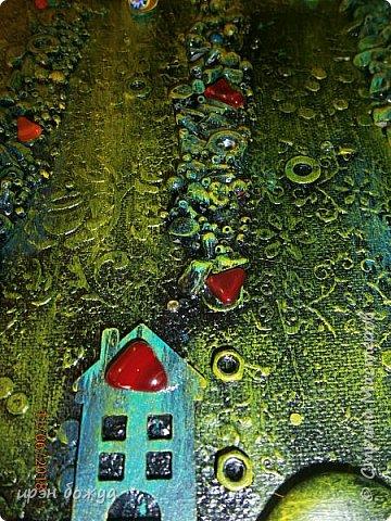Это панно сделано в подарок женщине с армянскими корнями. Работа выполнена по мотивам работ Ольги  Кравец. В окончательном варианте фото оформила в красную рамочку. Фото добавлю потом. фото 18