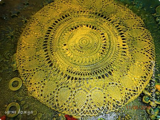 Это панно сделано в подарок женщине с армянскими корнями. Работа выполнена по мотивам работ Ольги  Кравец. В окончательном варианте фото оформила в красную рамочку. Фото добавлю потом. фото 20