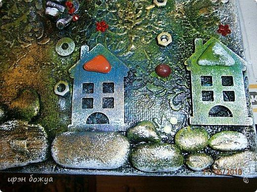 Это панно сделано в подарок женщине с армянскими корнями. Работа выполнена по мотивам работ Ольги  Кравец. В окончательном варианте фото оформила в красную рамочку. Фото добавлю потом. фото 26