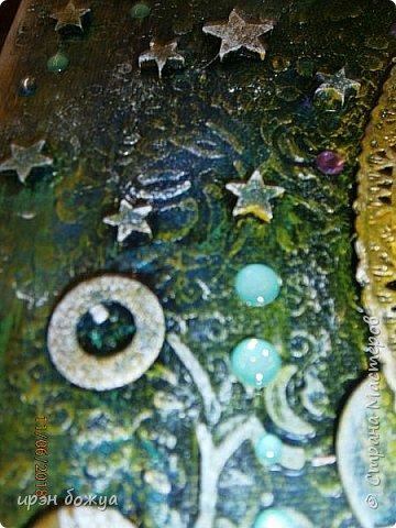 Это панно сделано в подарок женщине с армянскими корнями. Работа выполнена по мотивам работ Ольги  Кравец. В окончательном варианте фото оформила в красную рамочку. Фото добавлю потом. фото 29