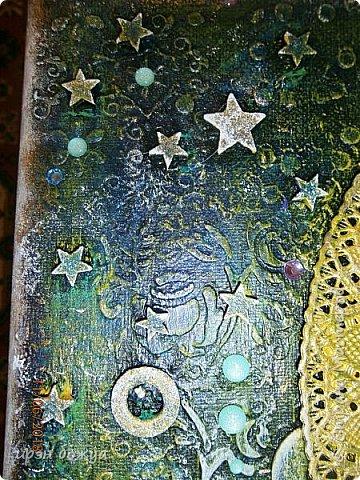 Это панно сделано в подарок женщине с армянскими корнями. Работа выполнена по мотивам работ Ольги  Кравец. В окончательном варианте фото оформила в красную рамочку. Фото добавлю потом. фото 30