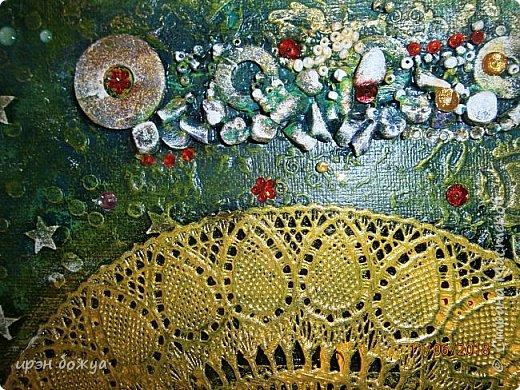 Это панно сделано в подарок женщине с армянскими корнями. Работа выполнена по мотивам работ Ольги  Кравец. В окончательном варианте фото оформила в красную рамочку. Фото добавлю потом. фото 31