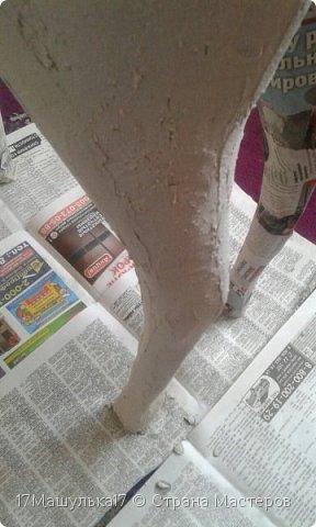 """Добрый день! Приветствую всех!  Давно меня здесь не было) Хочу представить вам мою скульптура - жирафа! Делала я её для сада, в высоту получился 160 см и вес 5 кг) Расскажу как все начиналось, месяца два назад я заинтересовалась паперкрафтом и полностью погрузилась в мир бумажных фигур, я целыми днями сидела и вдохновлялась людьми, которые создают разные шедевры из бумаги. Кому интересно, есть группа в контакте - """"Отборная макулатура"""" , где  есть множество разверток на любой вкус)  Так вот, первой моей работы была кошка, к сожалению фото не прилагаю, потому что не фотографировала её. Затем я сделала трофей панды, фото вы увидите ниже. Ну а потом я долго думала над тем, почему бы мне не сделать большую скульптуру в сад?  На следующий день я пошла купила плотную бумагу и с помощью специальной программы сделала развертку под рост 160см. Затем я распечатала детали и понеслааась работа) Делала я его месяц. Расскажу всё по порядку....   фото 5"""
