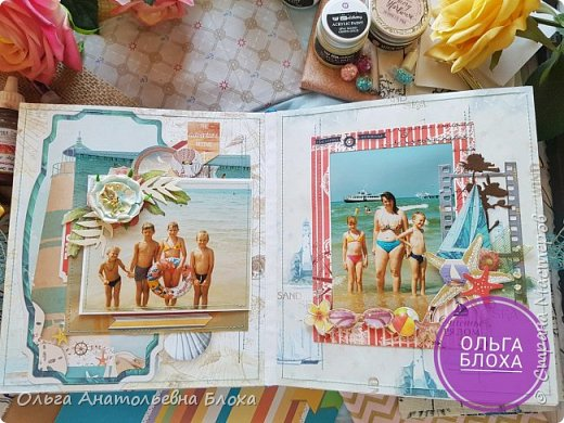 "Скрап-Альбом ""Наша семья"". фото 2"