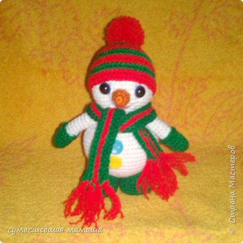 Снеговичок Толстячок фото 1