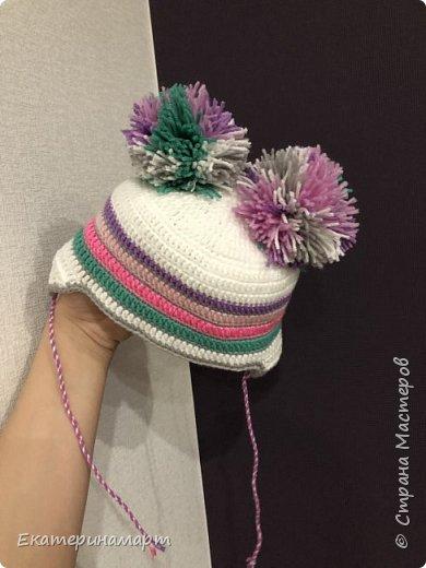 Решила знакомым навязать шапочки =) вдохновилась =) фото 14
