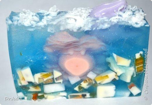 Специально рисунок на свирлах никогда не делаю, тем интереснее разглядывать мыло на разрезе... фото 28